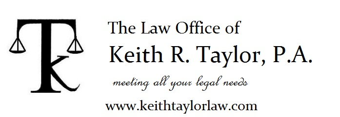 Law Offices of Keith R. Taylor Logo