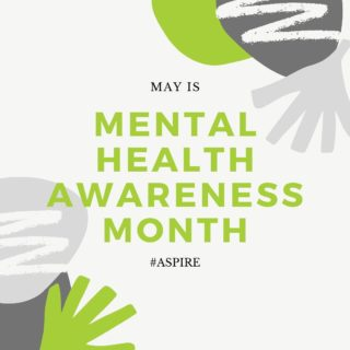 May is Mental Health Awareness month and we encourage you all to be kind to your mind! The CDC recommends these 5 tips to cope with stress during COVID-19: 1. PAUSE. Breathe. Notice how you feel 2. TAKE BREAKS from COVID-19 content 3. MAKE TIME to sleep and exercise 4. REACH OUT and stay connected 5. SEEK HELP if overwhelmed or unsafe As always, we are here to support you and our community. Reach out to us if you need help. We want to #breakthestigma regarding mental health. #aspire #shakingupcitruscounty #mentalhealthawarenessmonth